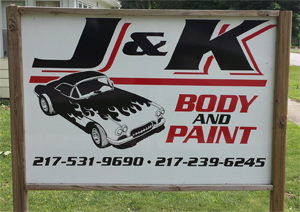 J&ampK Body and Paint - Contact Us - Homer, IL
